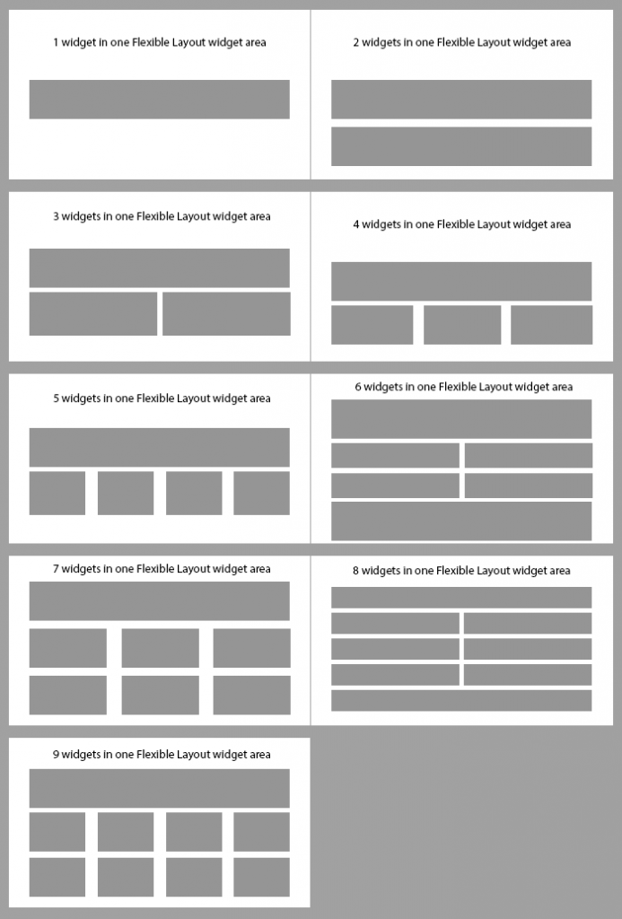 Flexible layout grids available in Altitude Pro theme
