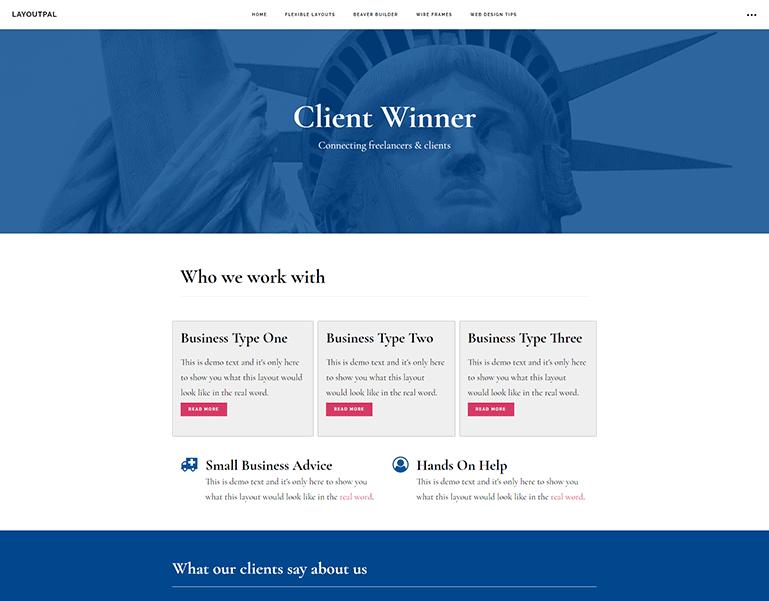 Client Winner